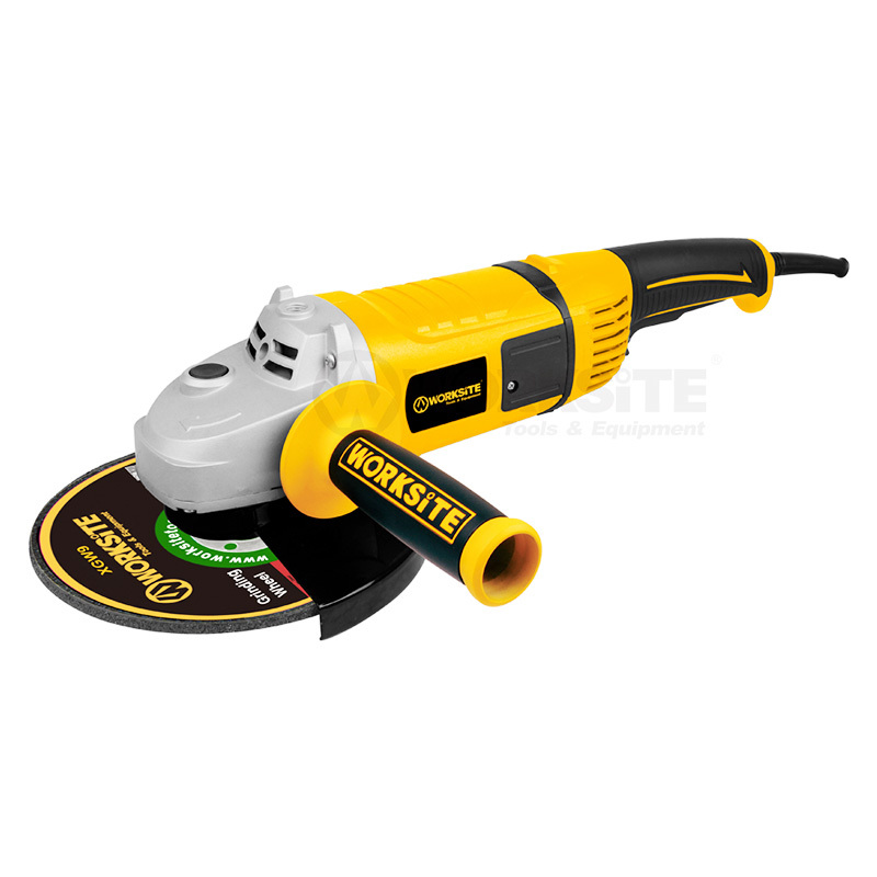 Electric Portable Hand Angle Grinder 2600W 180°Rotatable Tail AG423