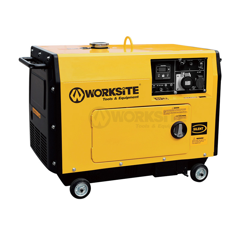 6000W Portable Quiet Diesel Generator 69 Db Noise Rating DGS109