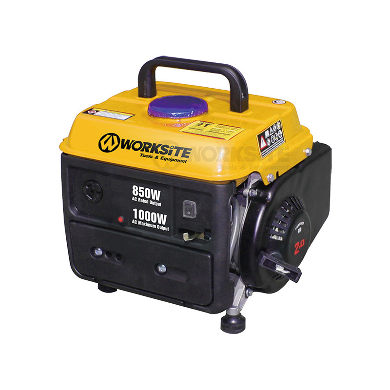 850W 2 Stroke Gasoline Generator Recoil start 72 dB Noise Rating EGT102