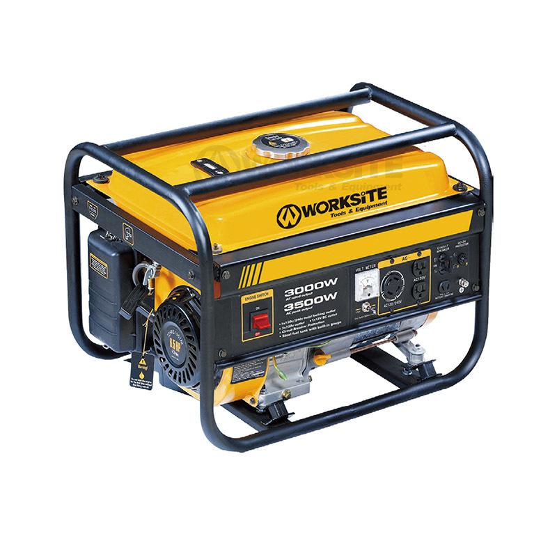 Portable Power Gasloline Generator 3000W/3500W 15L Air-cool EGT113