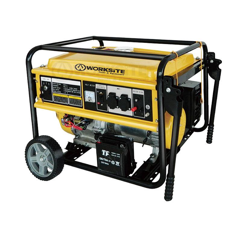 5000 Watt Portable Gasoline Generator 4 Stroke 25L EGT126