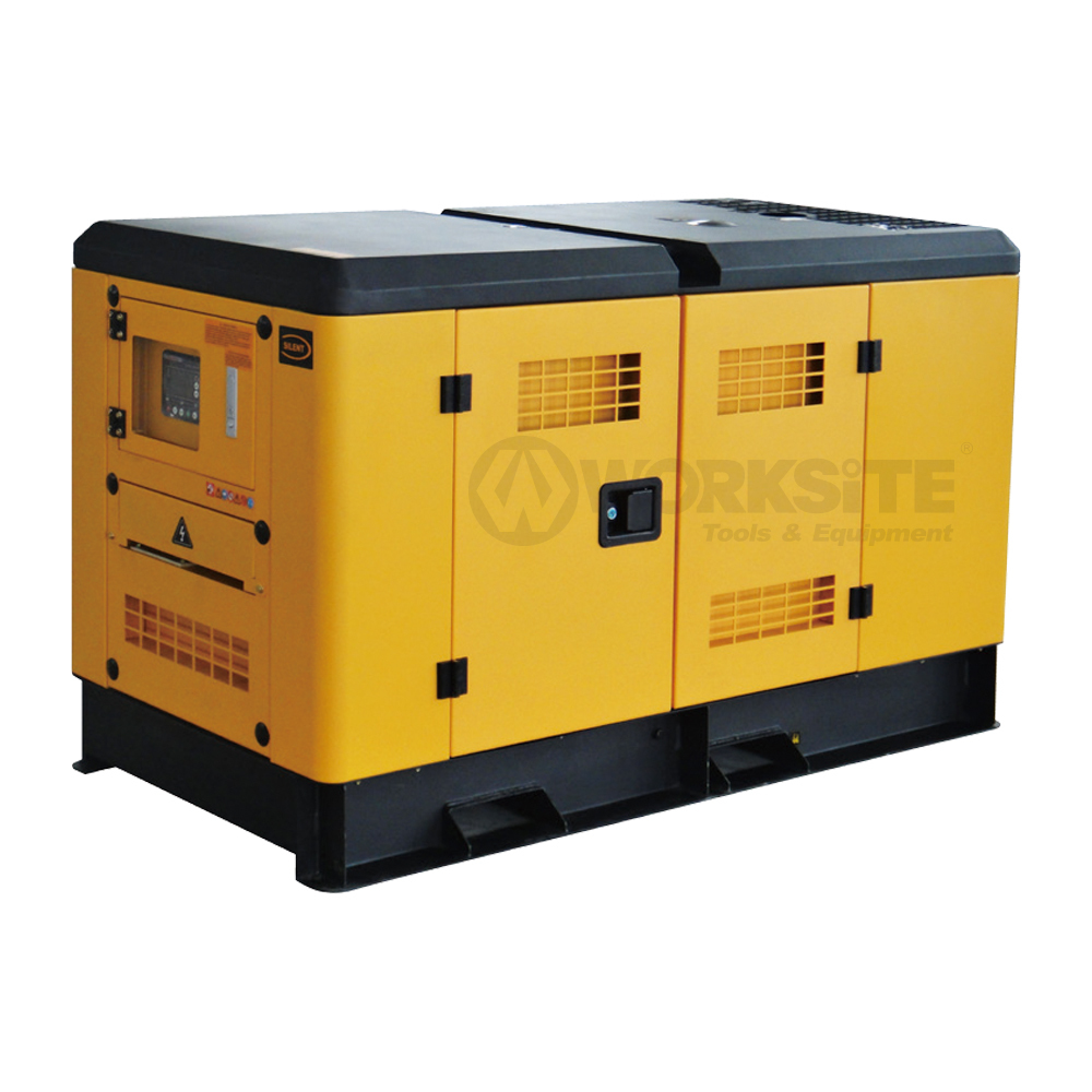 10/15/30/50/100/200KW Silent Diesel Generator Noise Level 72dB GB10YD