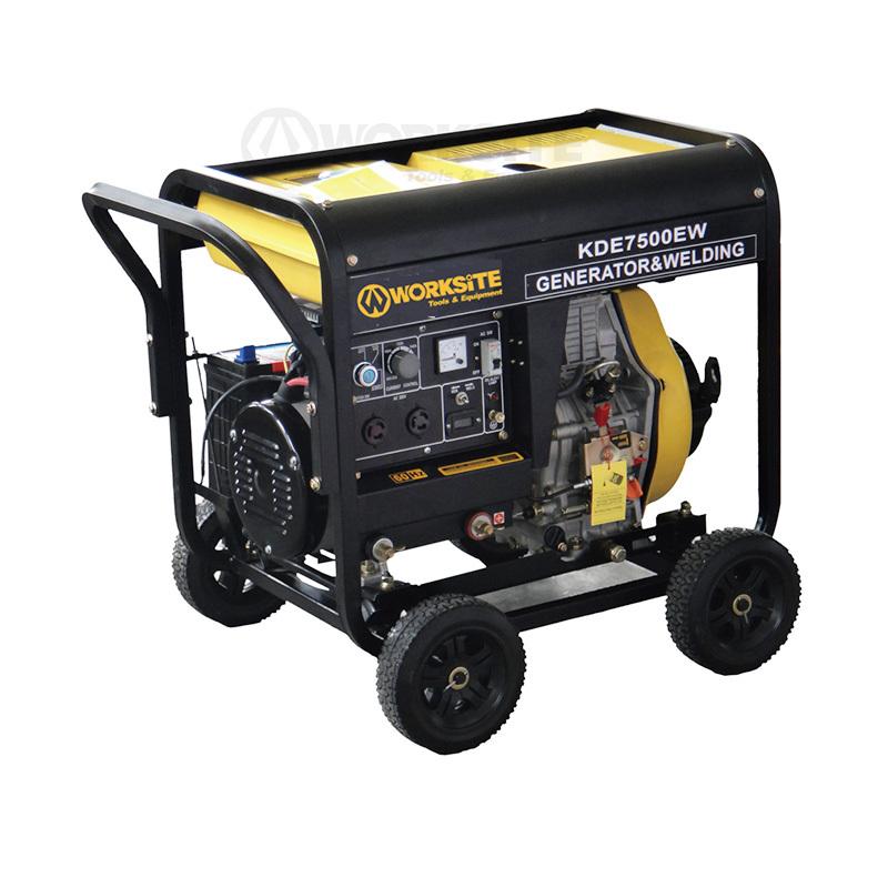 4200W Portable Welding Diesel Generator Electric+Recoil Start 12.5L WDG102
