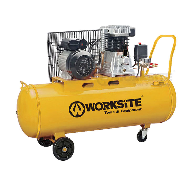Portable 2HP Air Compressor Max. 125PSI Oil-lubricated Pump ACP138-100L/Z