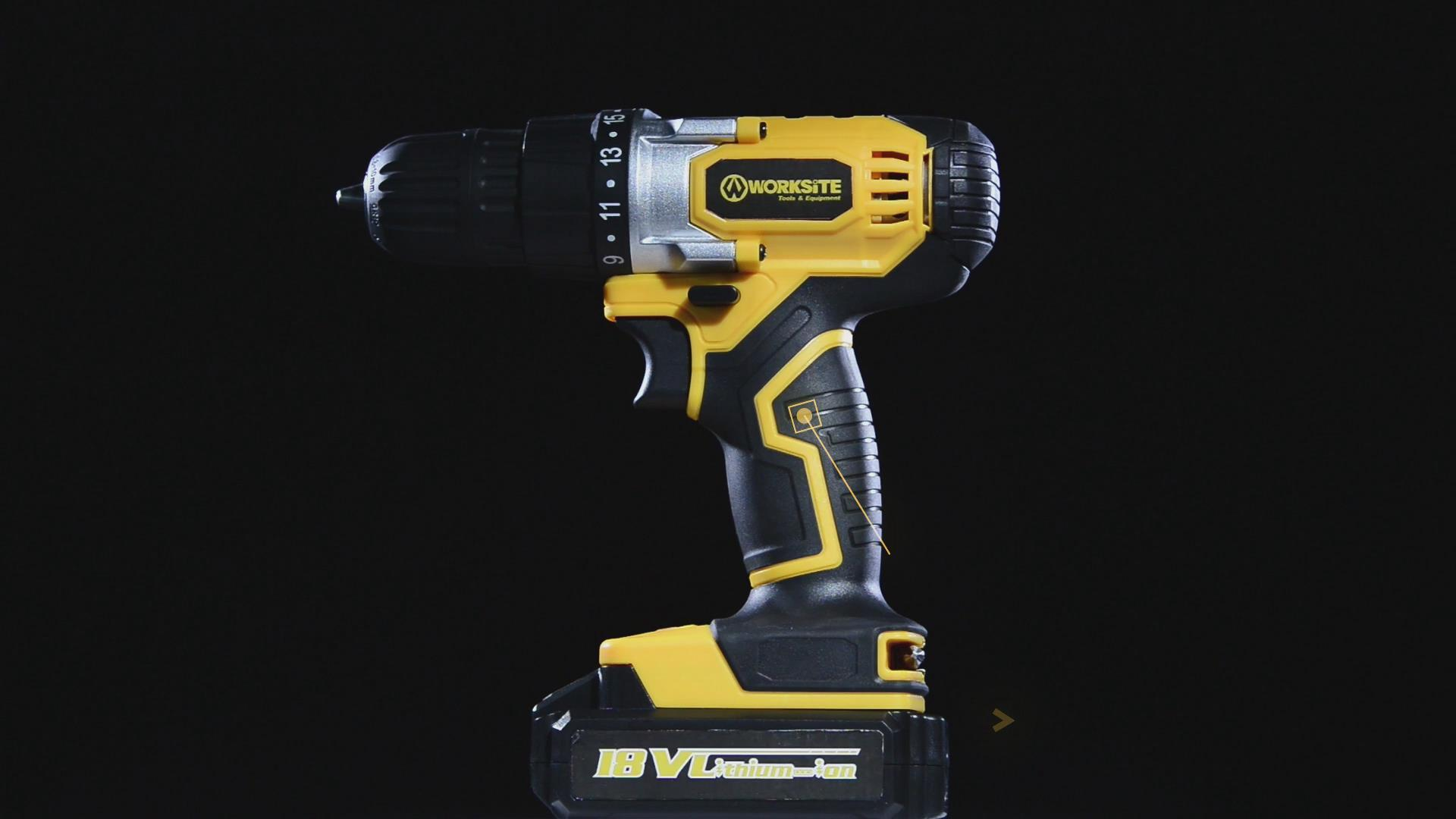 Worksite Cordless Drill, 20V Max, CD317
