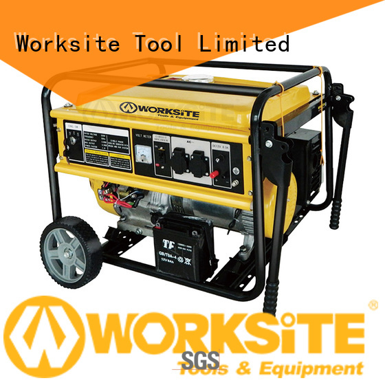 WORKSITE portable power generator factory for sale