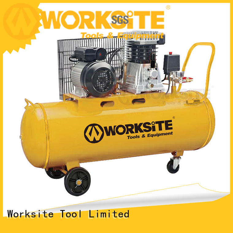 WORKSITE high quality reciprocating air compressor for sale