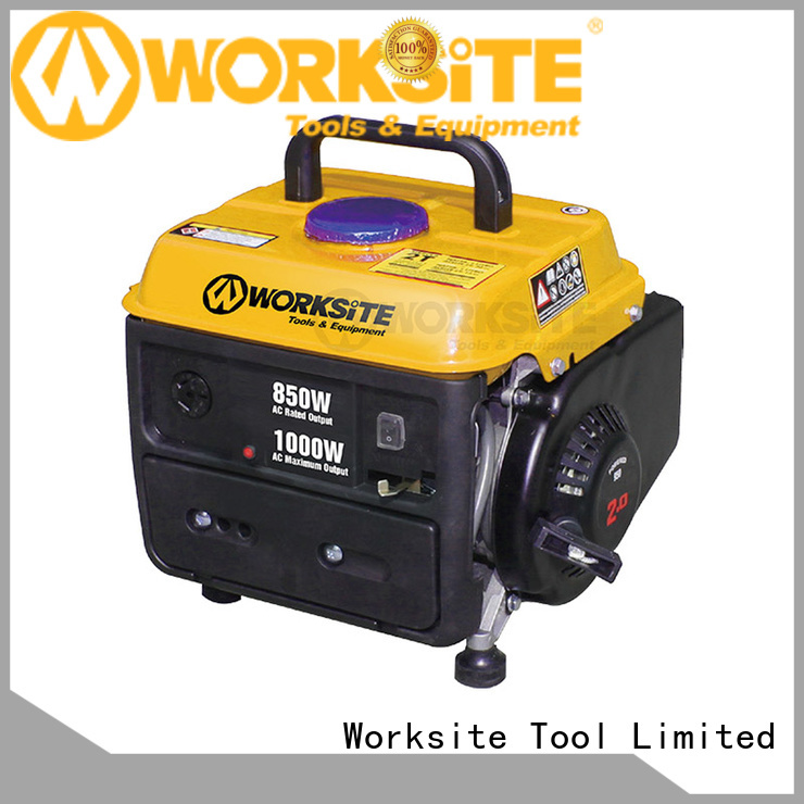 WORKSITE ROHS certified portable generator manufacturer for homeowners