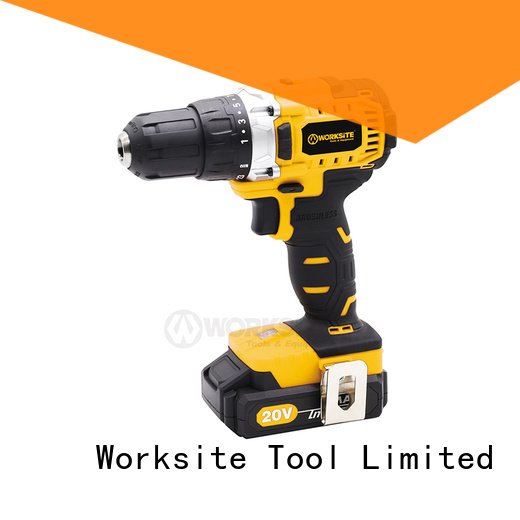 WORKSITE ROHS certified cordless brushless impact drill for importers