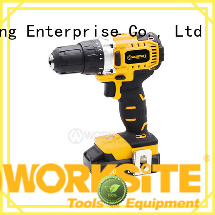 WORKSITE battery drill manufacturer for homeowners