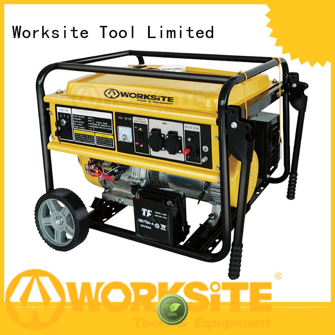 WORKSITE well known inverter generator manufacturer for homeowners