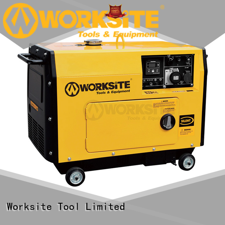WORKSITE emergency generator manufacturer for wholesale