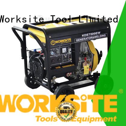 WORKSITE quiet diesel generator for homeowners