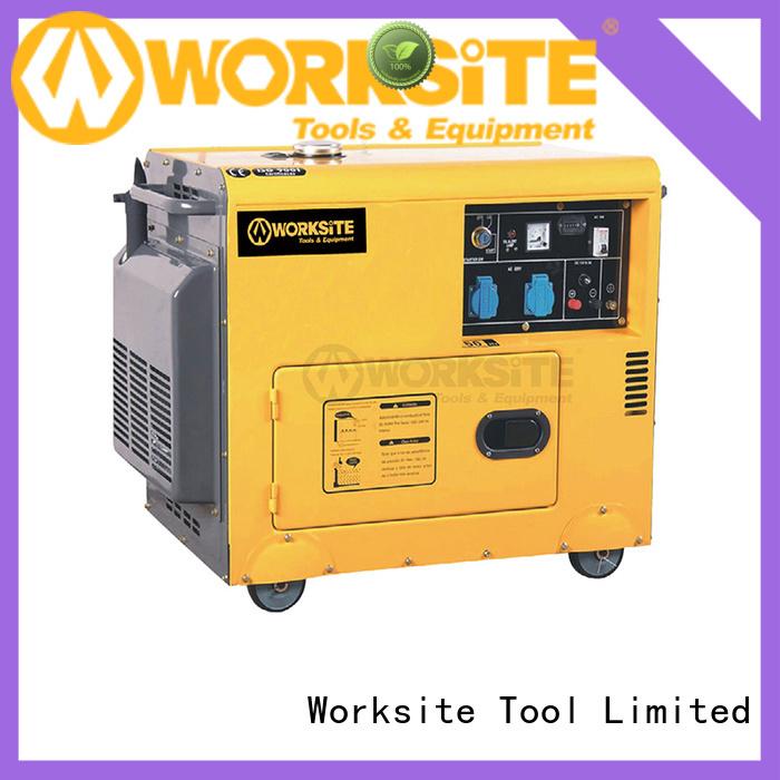 WORKSITE custom backup generator supplier for importers