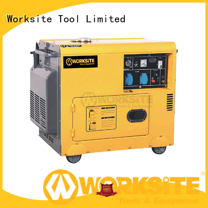 WORKSITE diesel standby generator manufacturer for importers