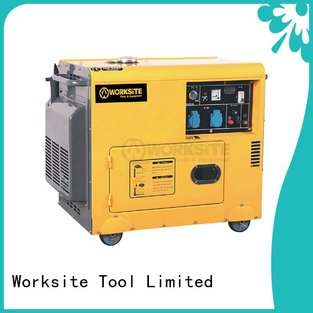 WORKSITE gas generator price factory for sale