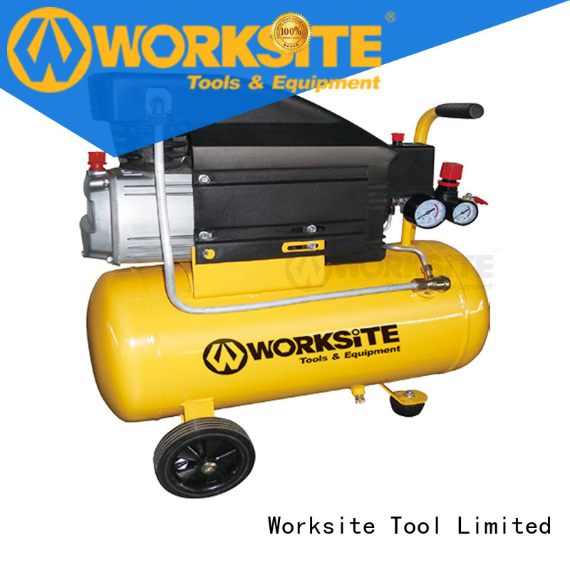 WORKSITE ROHS certified two stage air compressor supplier for homeowners