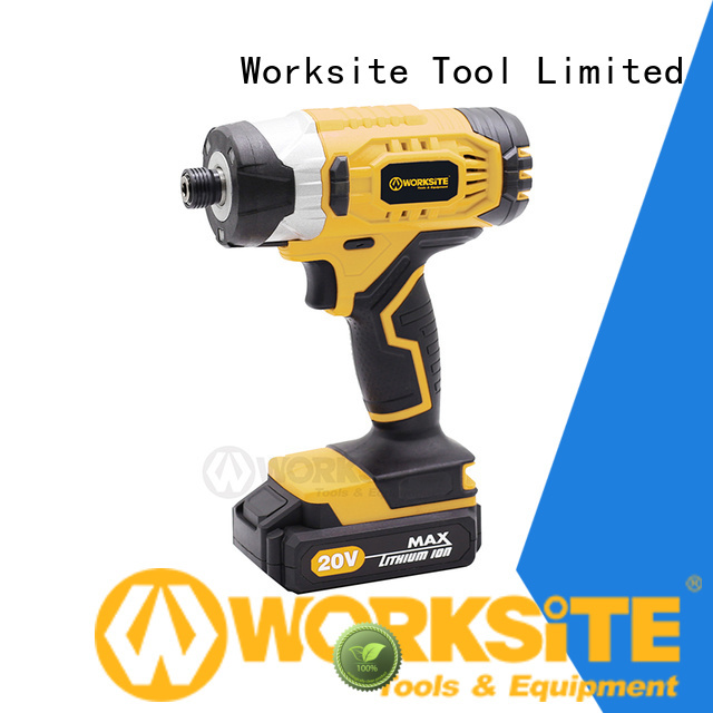 WORKSITE OEM ODM cordless brushless impact driver supplier for sale