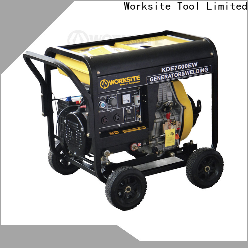 WORKSITE well known generator supplier for homeowners