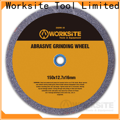 WORKSITE custom grinding wheel manufacturer for carpenter