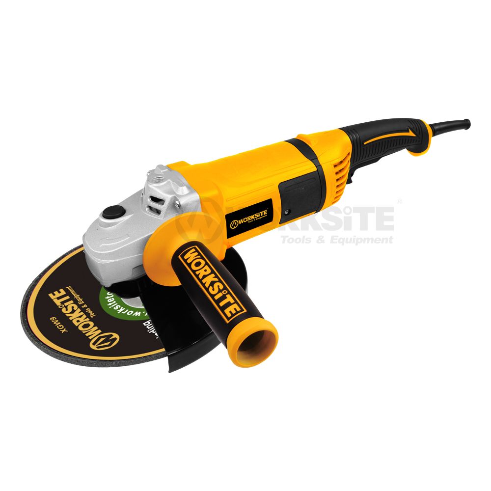 230mm Angle Grinder, AG419, 2000W, 220-230V, 50/60Hz, 180°Rotatable Tail