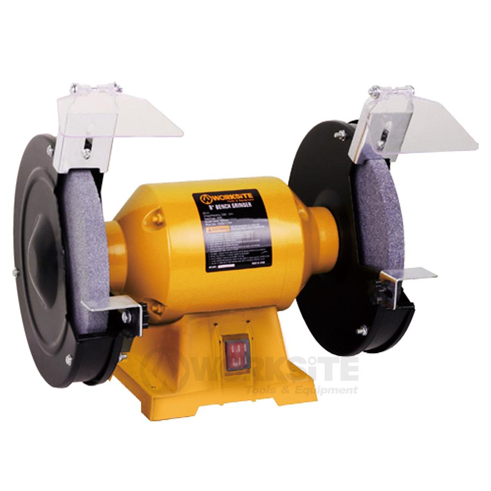 8 inch Bench Grinder,BG110, 300W,Wheel size 200mmx20mm, Grit 36&80,Arbor: 16mm