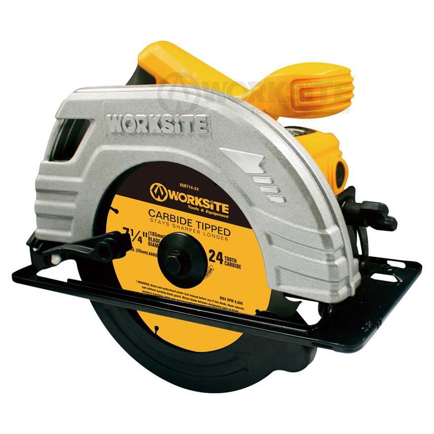 185mm Circular Saw,CSW173, 1400W, Max Cutting 62.5mm,Professional level