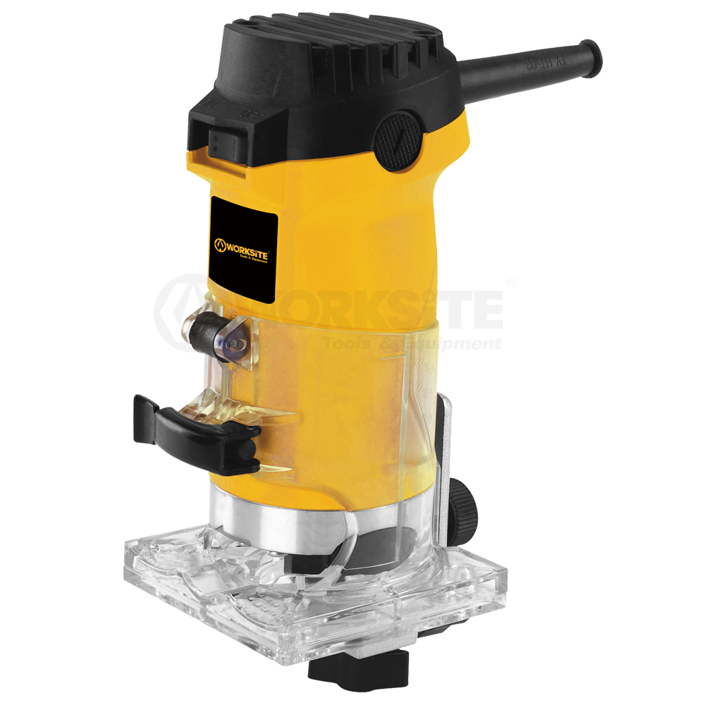 500W Trimmer, 6mm Collet, Woodworking, ERM105