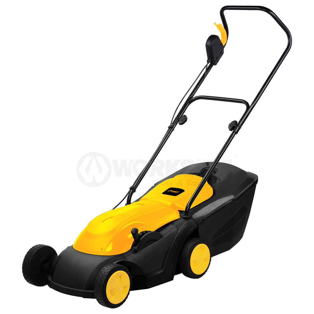 380mm Electric Lawn Mover, ALM126, 1600W,5 speed,50L
