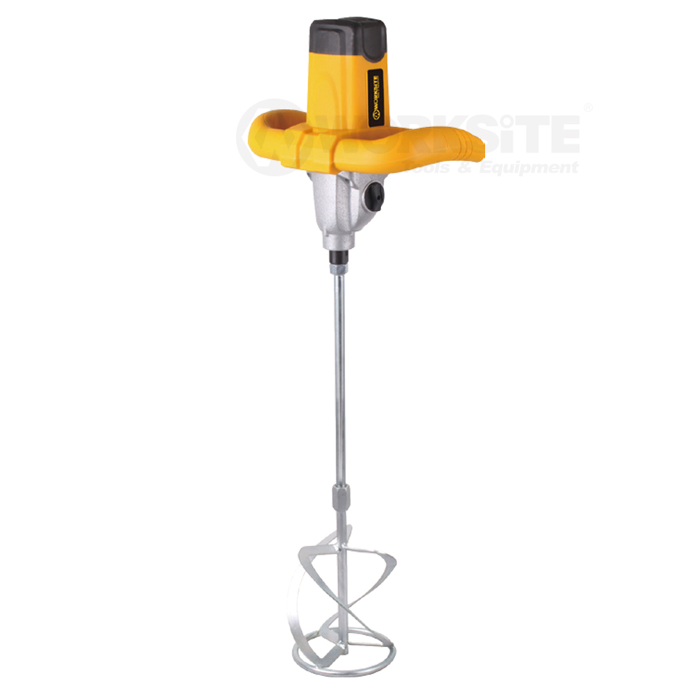 Hand Held Electric Paint Mixer,EMM114,1400W,2 speed,2 Mixing Bar