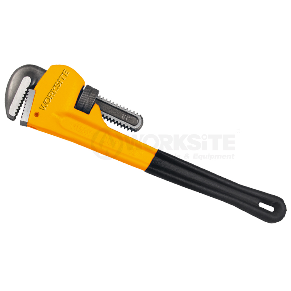 Adjustable Pipe Wrench Dipped Handle
