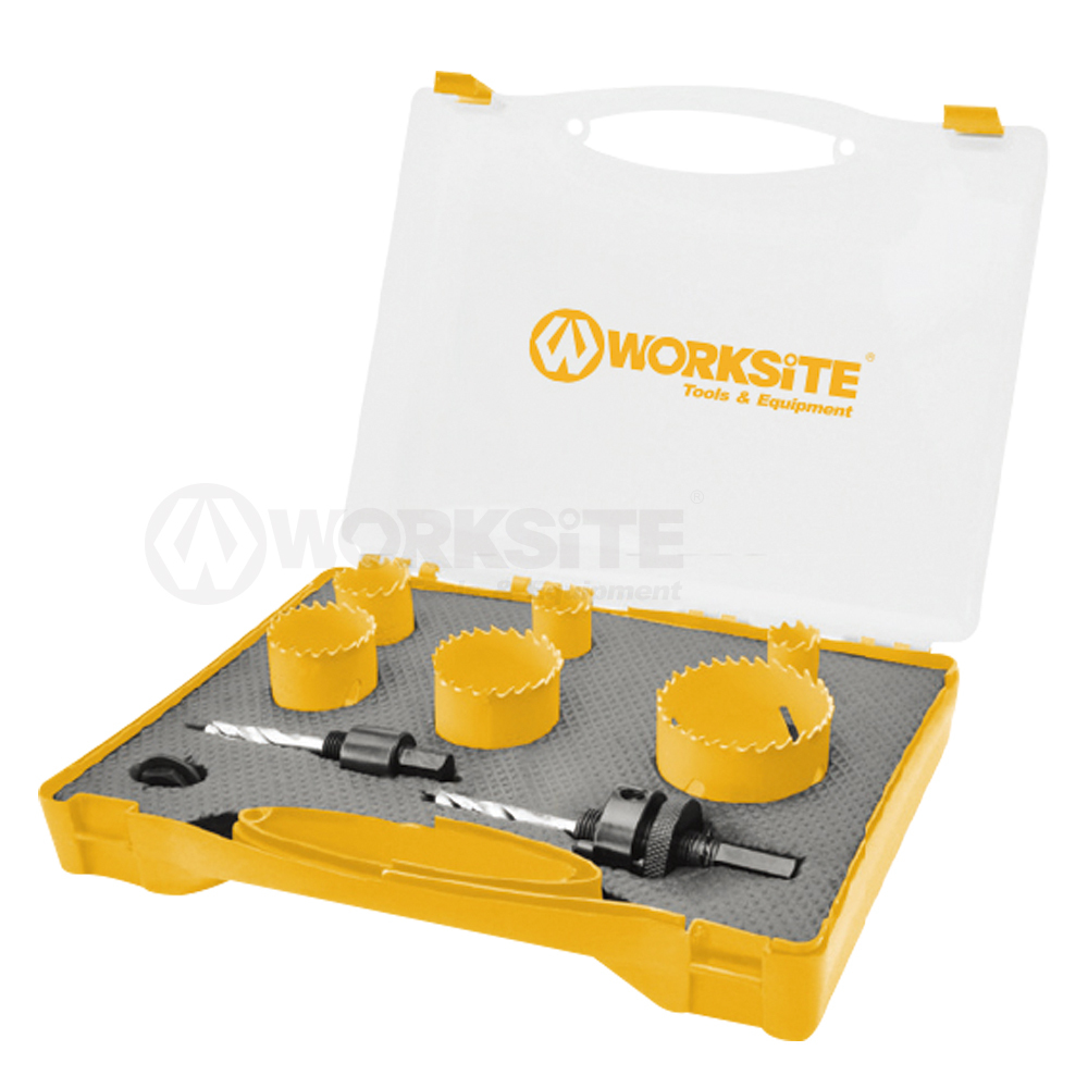 9PCS BI-Metal Hole Saw Kit