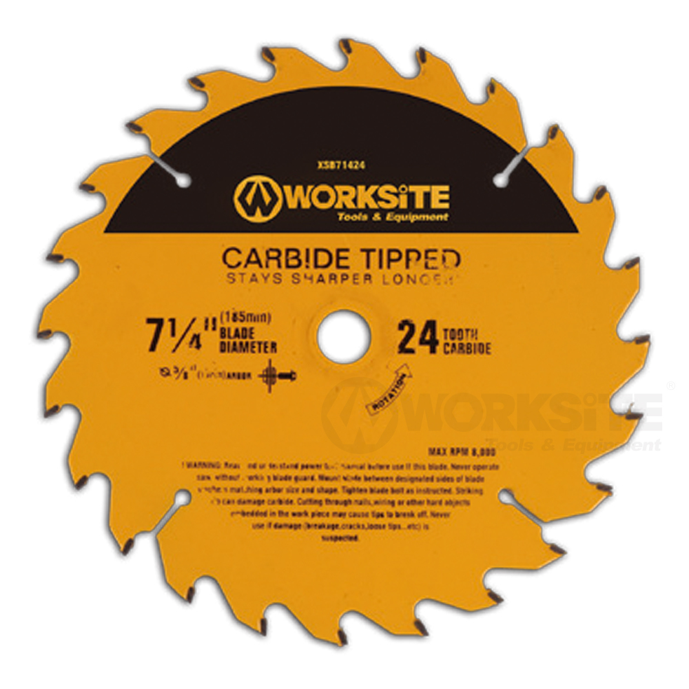 Tct Saw Blade, 24/40/60/100TEETH, Worksite Power Tools Accessories
