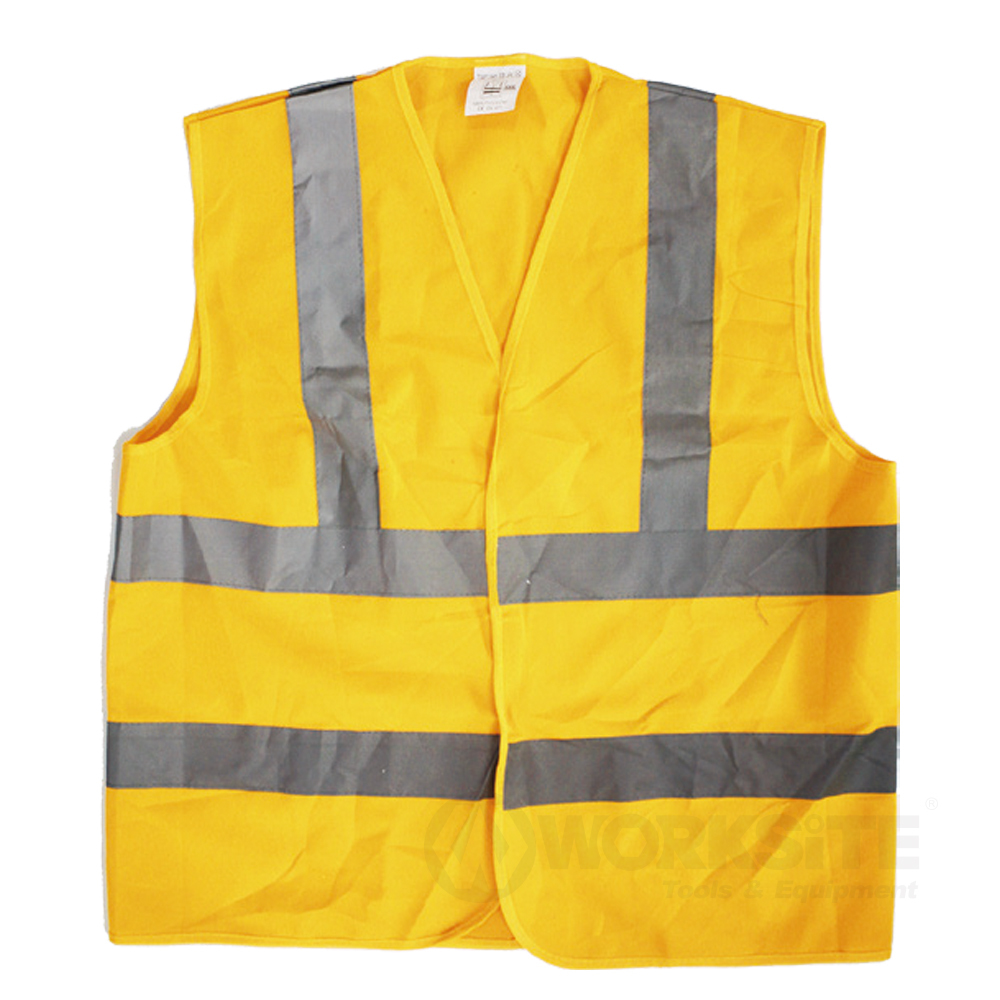 Reflection Vest, WT9322, Industrial Neon Yellow Safety Vest