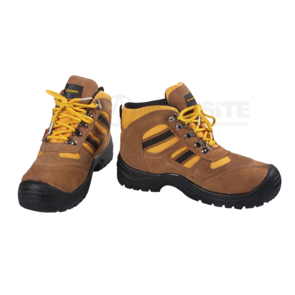Safety Boots, WT8304, PU Leather+foam