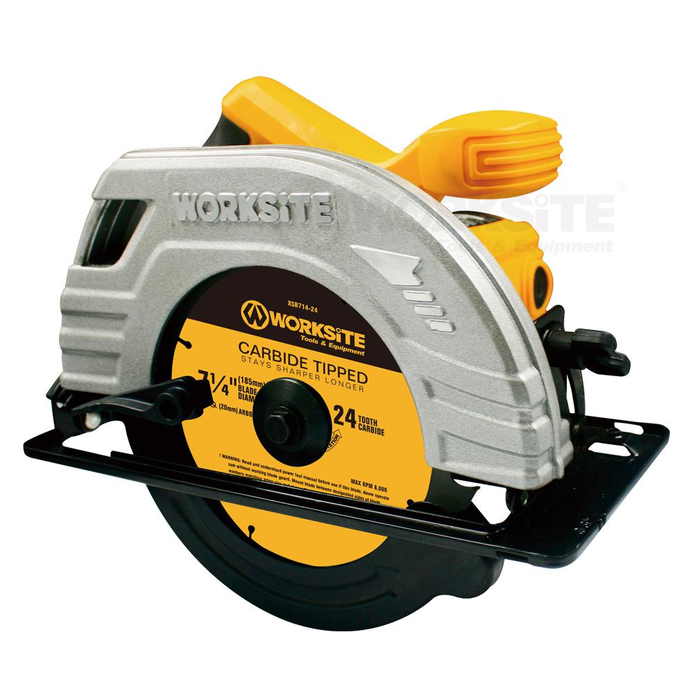 185mm Circular Saw, CSW173, 1400W, 110V, Max Cutting62.5mm, Professional level