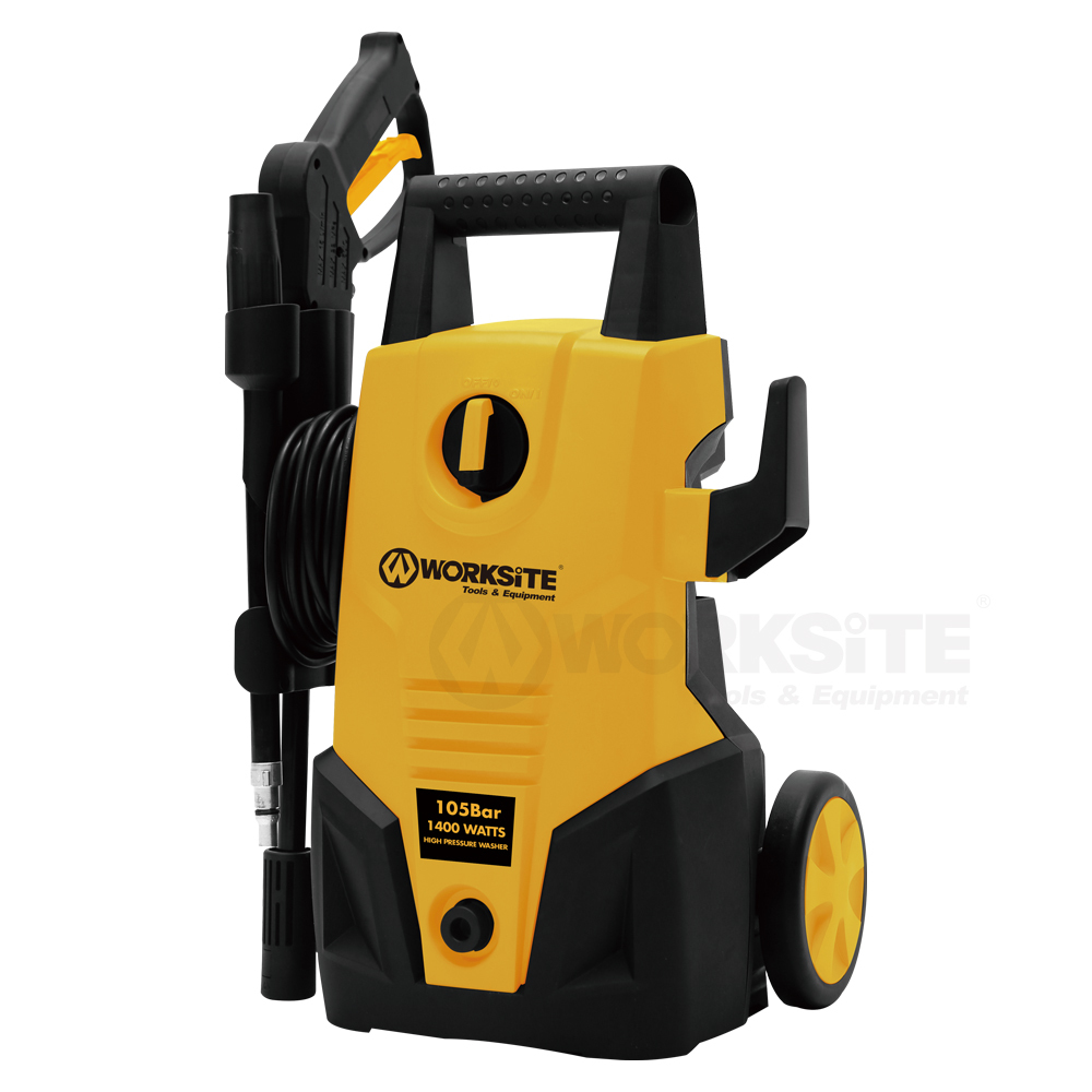 1400W High Pressure Washer, HPW102,  110V, 105bar, 5.5L/min, IPX5