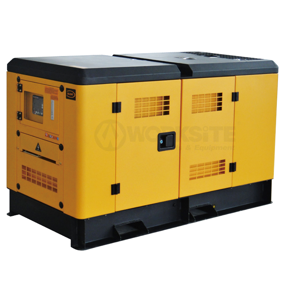 Silent Diesel Generator, 10/15/30/50/100/200KW,   Water Cooling, Noise Level 72dB