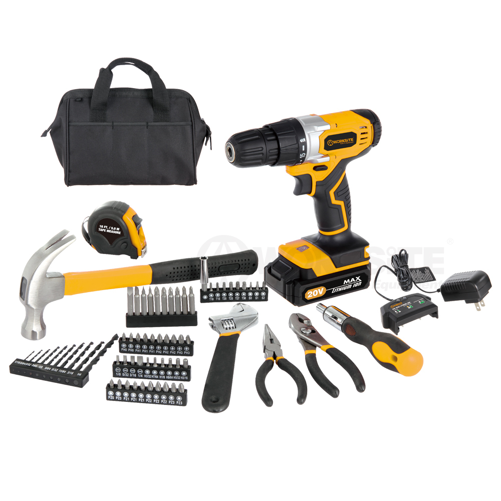 70pc Cordless Project Kit, CT70-CB, 10mm