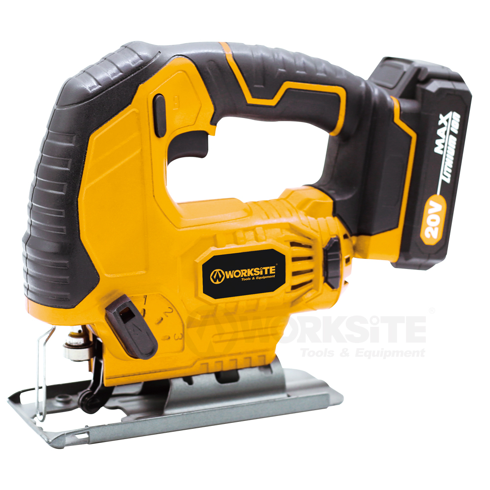 20V Cordless Jig Saw, CJS326, 2.0AH Battery and FAST Charger