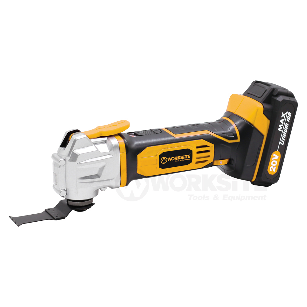 20V Cordless Oscillating Tool, CMT326, 2.0AH Battery and FAST Charger