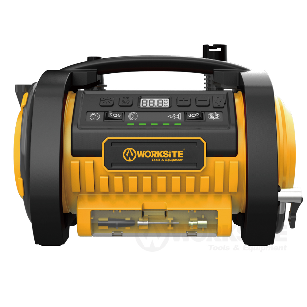 20V Cordless Power Inflatop, CAP211, 2.0AH Battery and FAST Charger