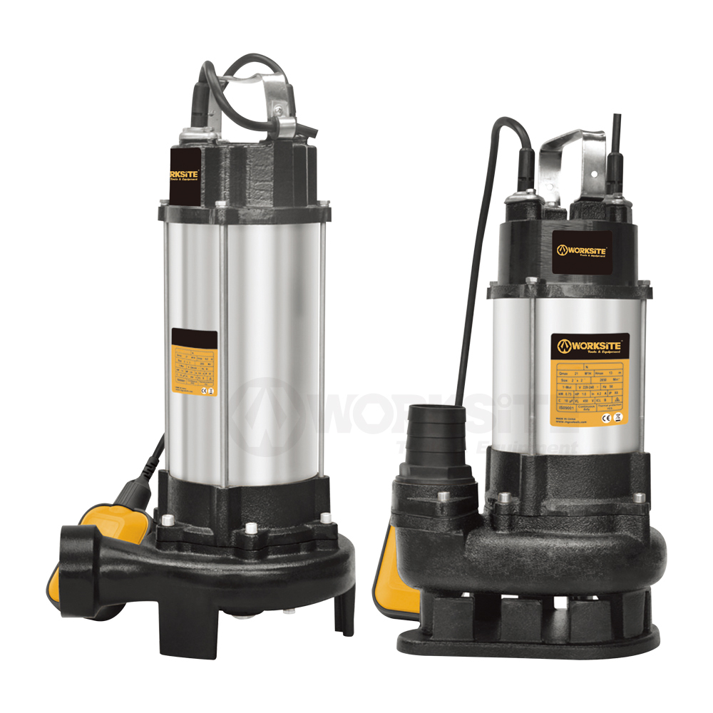 Sewage Submersible Pump, SSP550/1100/1500, 15M, 750W