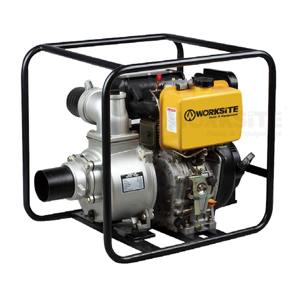 Diesel Water Pump, DWP104/106, 178FA, 4 Stroke, Air-cooled