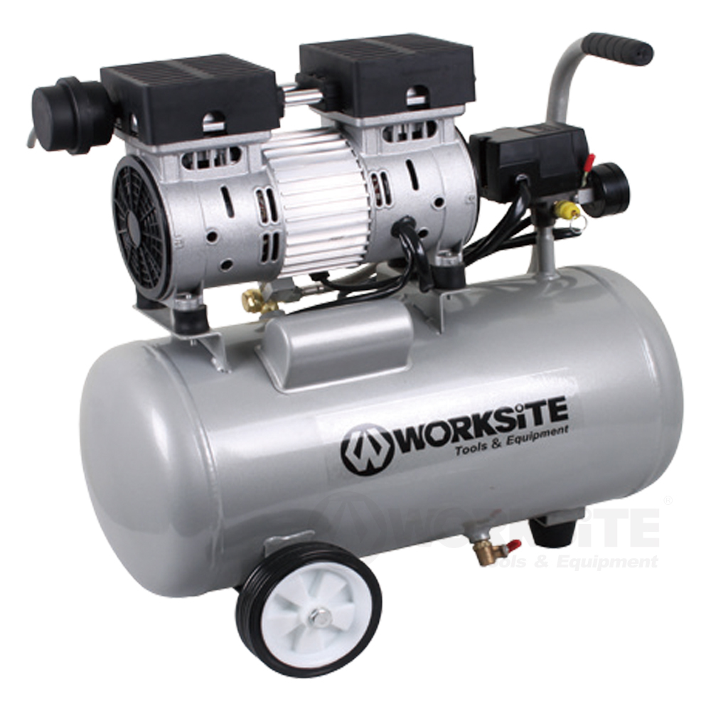 25L Ultra-quiet Air Compressor,  ACP302, 1.0HP, 85-125PSI
