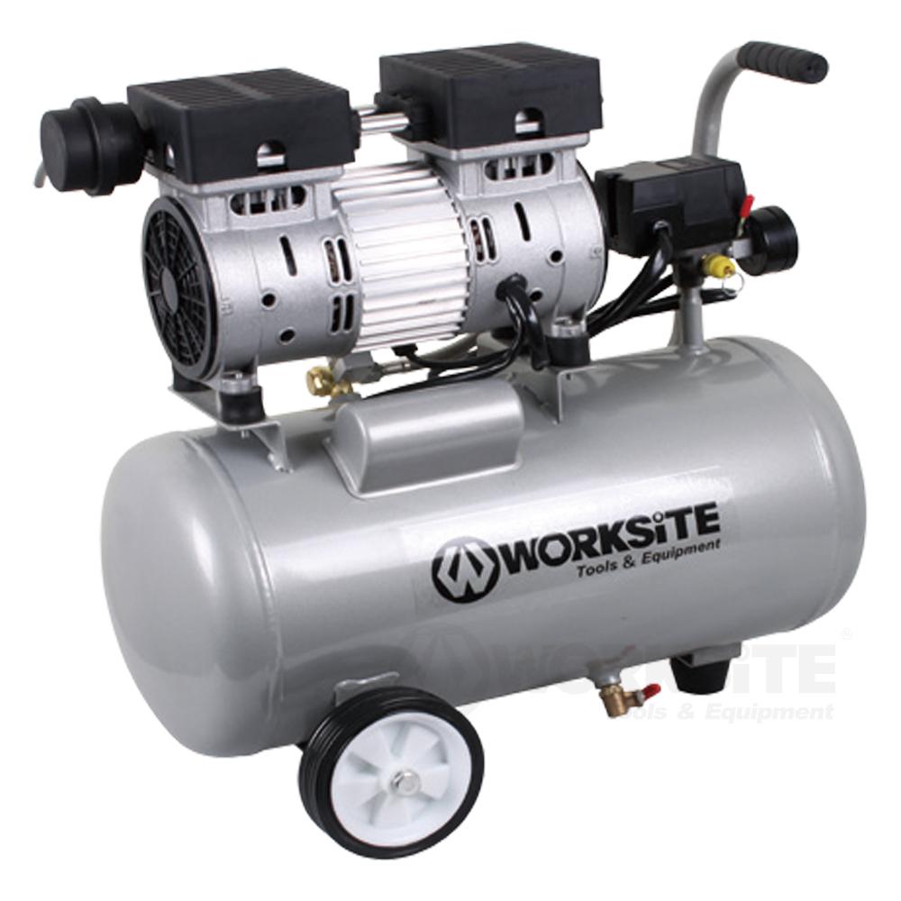25L Ultra-quiet Air Compressor, ACP302, 1.0HP, 85-125PSI