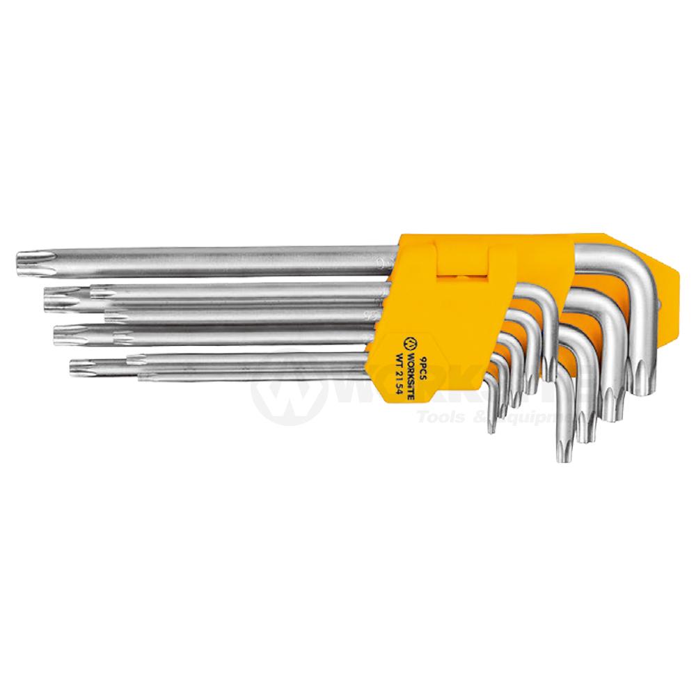 Star Wrench Set, WT2154, Long Arm, Cr-V steel