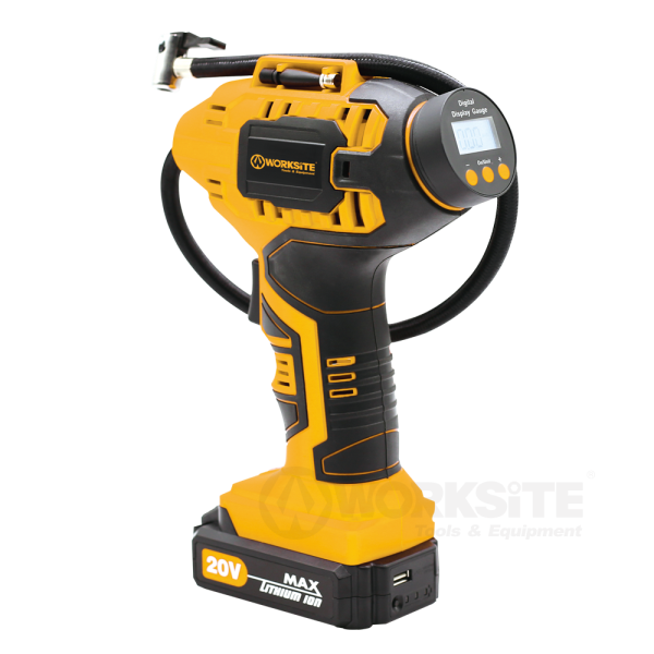 Worksite 20V Cordless Power Inflator