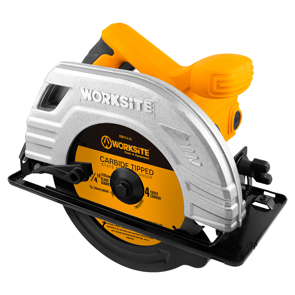 185mm Circular Saw,CSW173, 1400W, Max Cutting 62.5mm,Professional level