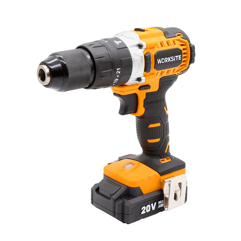 Hammer Drill Tools Battery 20V Power Drill Machine, CD320H, Cordless Hammer Drill Brushless